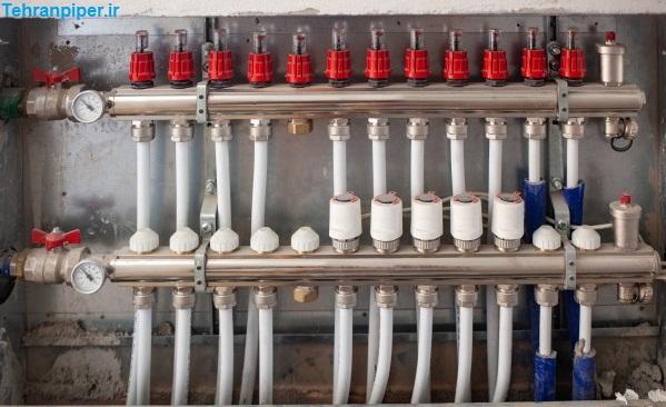 سیستم لوله کشی ذوب یخ